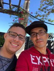 David and Eric: Tweedledee and Tweedledum